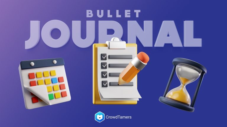 Digital Bullet Journaling as a daily scrum