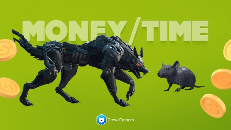 The Wolf and the Rat: Trading money for time in new startups